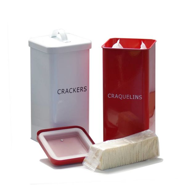 DecorSense White Cracker Box