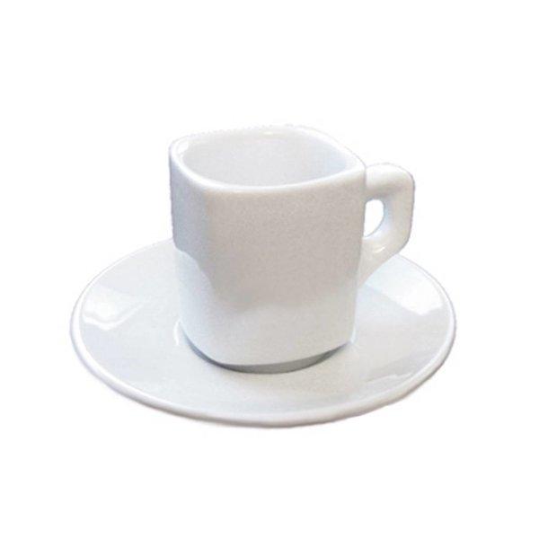 Ensemble de 6 tasses à espresso avec soucoupes de Orly Cuisine