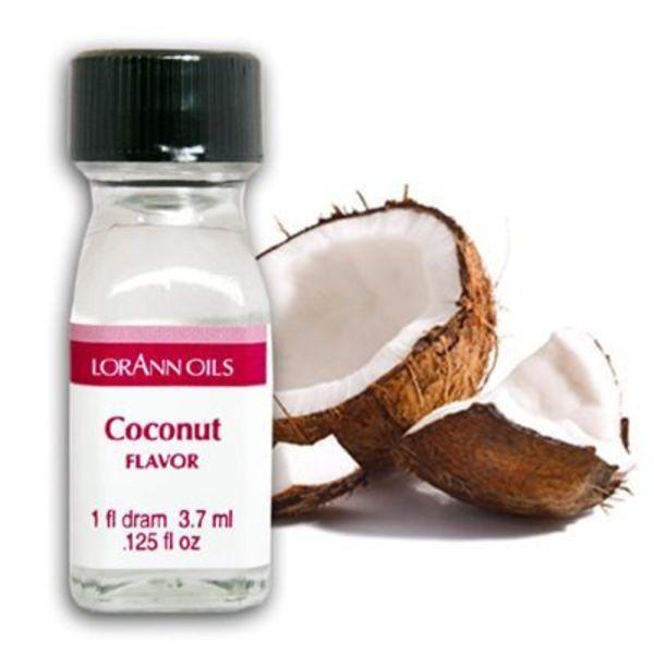 Arôme en huile noix de coco 3,7 ml de Lorann Oil