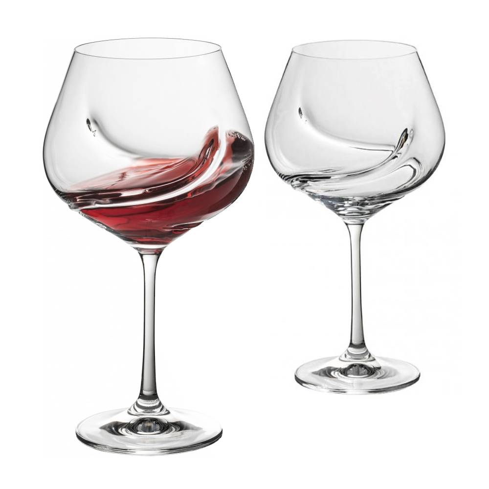 Ensemble de 2 verres vin turbulence de trudeau ares for Articles de cuisine trudeau