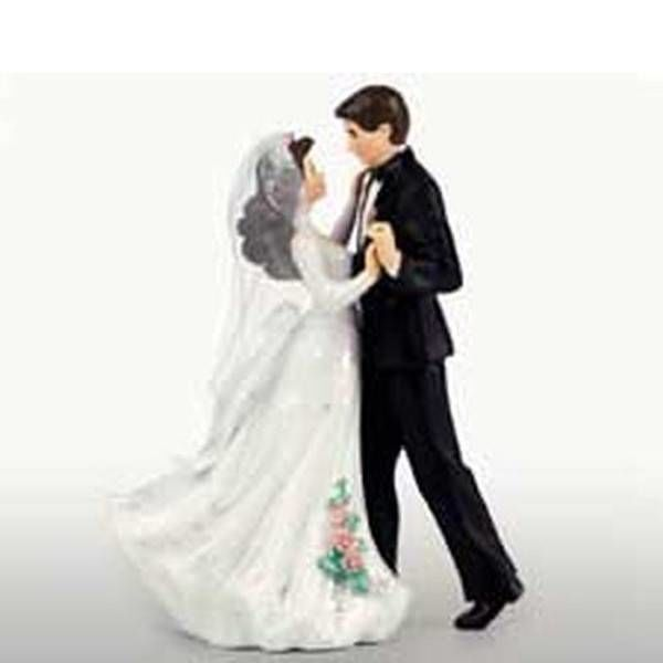 Figurine de première danse en couple marié de Wilton