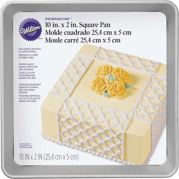 Wilton Performance Pan Square Cake Pan 25 x 5 cm