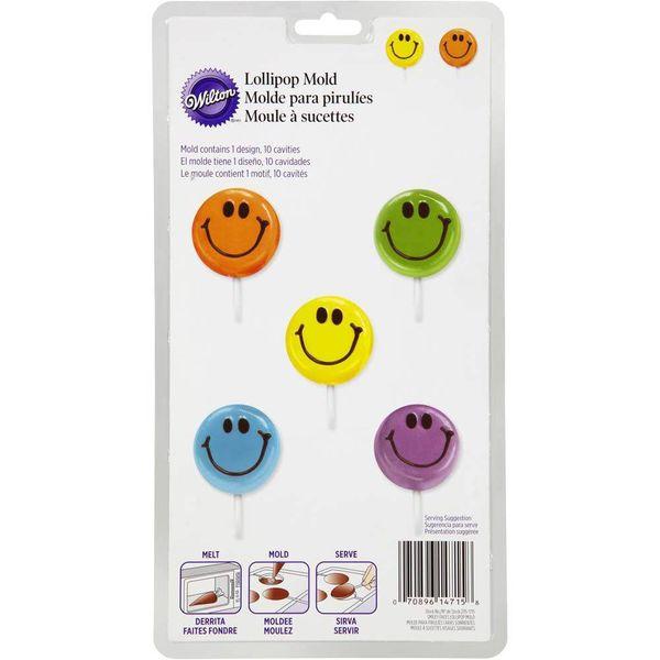 Wilton Smiley Face Lollipop Mold