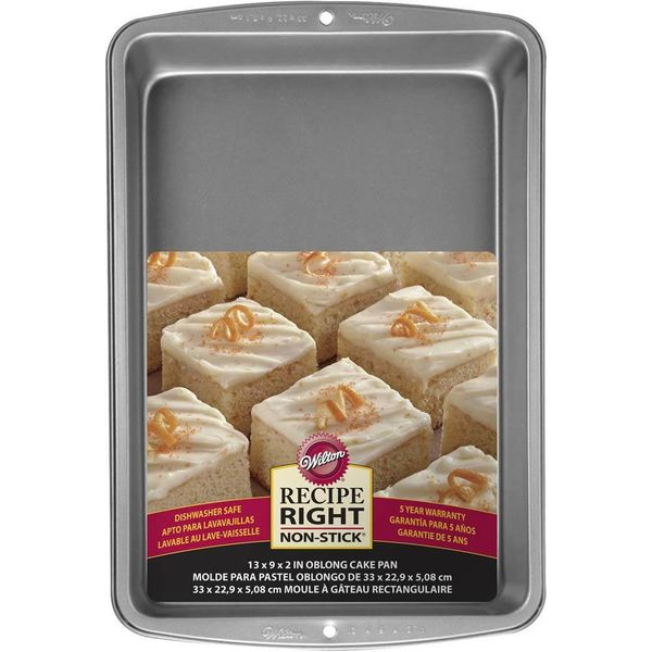 Wilton Recipe Right Cake Pan 33 x 23cm