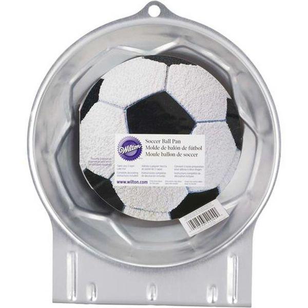 Moule à gâteau en forme de ballon de soccer de Wilton