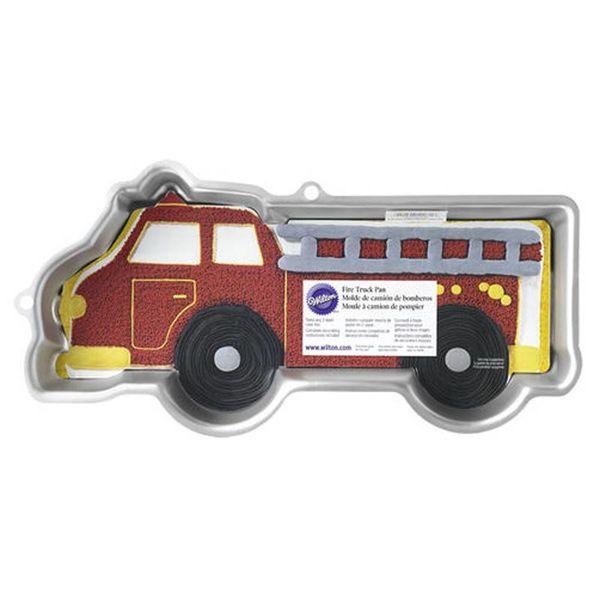 Moule à gâteau en forme de camion de pompier de Wilton