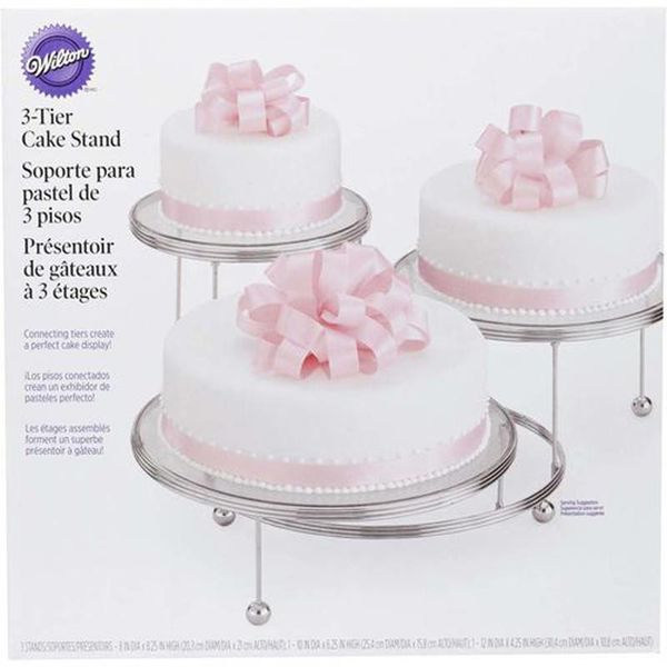 Wilton Cakes-N-More 3-Tier Dessert Stand