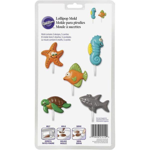 Wilton Sea Creatures Lollipop Mold