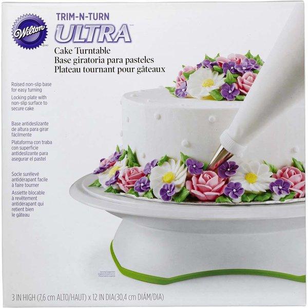 Wilton Trim 'N Turn Ultra Cake Decorating Turntable