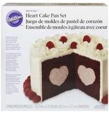 Wilton Moule à gâteau rempli en coeur de Wilton