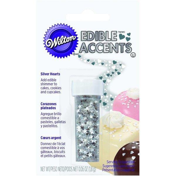 Wilton Silver Stars Edible Accents