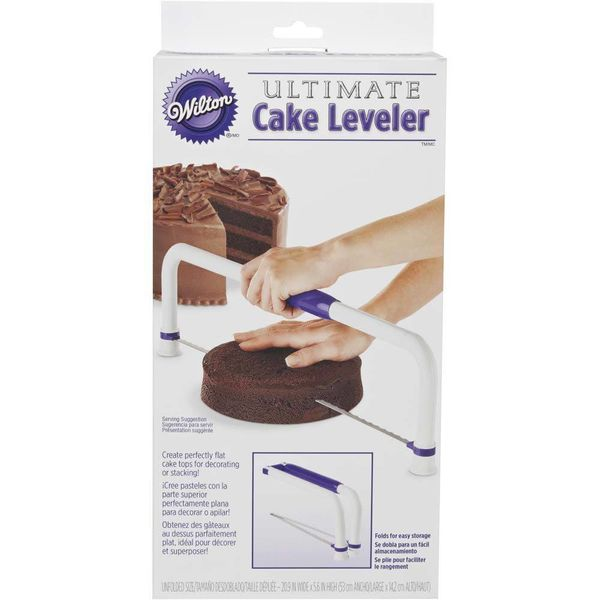 Égalisateur à gâteau ultime grand format de Wilton