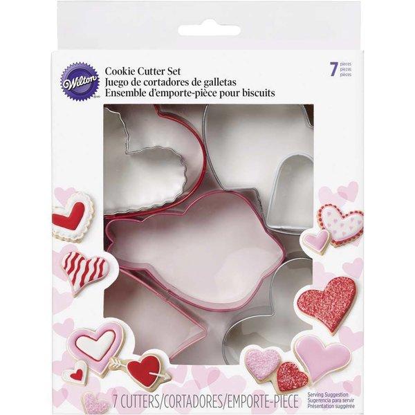 Wilton Valentine's Heart Cookie Cutter Set