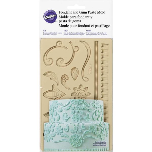 Wilton Lace Fondant & Gum Paste Mold