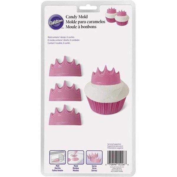 Wilton Princess Crown Candy Mold