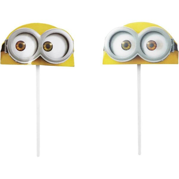 Wilton Minions Fun Pix Cupcake Toppers