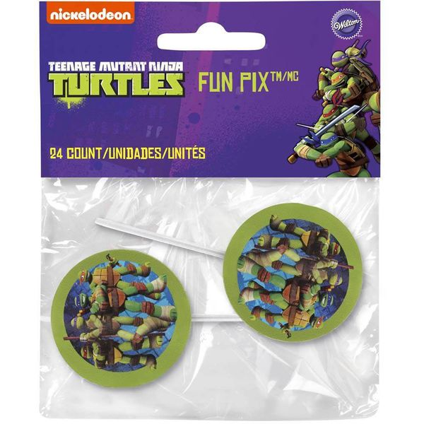 Wilton Teenage Mutant Ninja Turtles Fun Pix