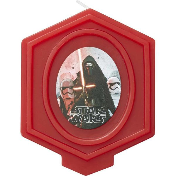 Chandelle d'anniversaire Star Wars de Wilton