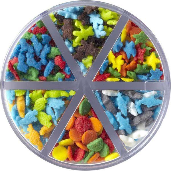 Wilton Animals & Stars 6-Cell Sprinkles