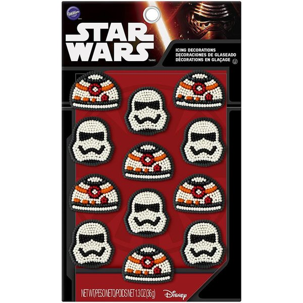 Wilton Star Wars Icing Decorations