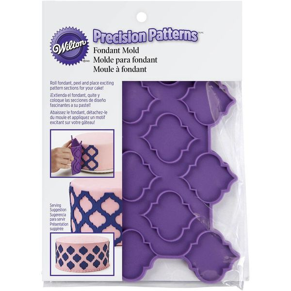 Wilton Precision Patterns Trellis Fondant Mold