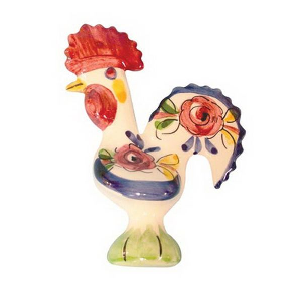 Portugal Imports The Good Luck Rooster 19cm Creme Collection
