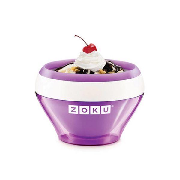 Machine à crème glacée mauve de Zoku