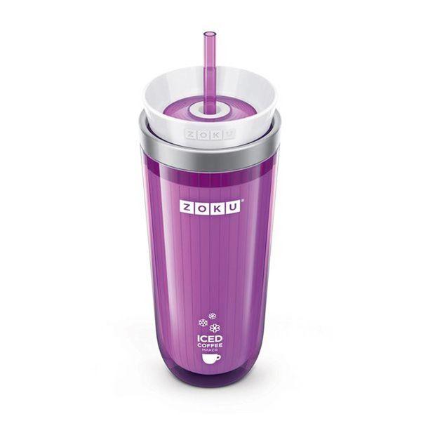Tasse à café glacé mauve de Zoku