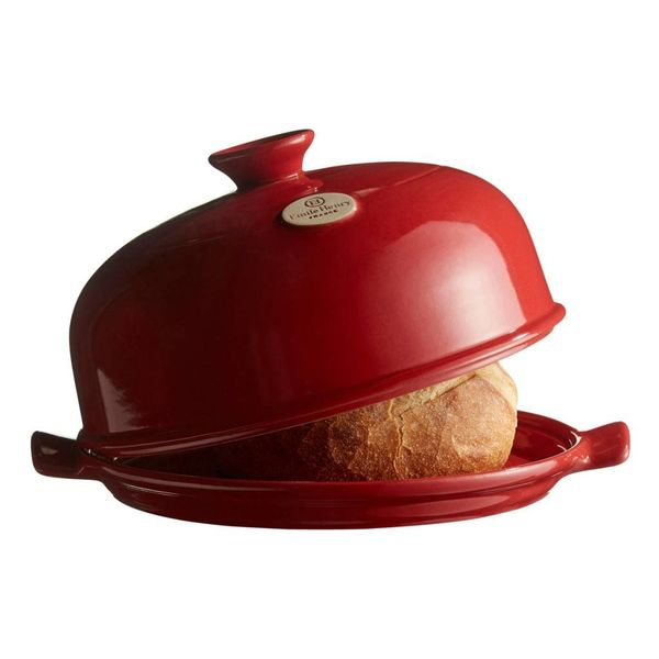 Emile Henry Bread Cloche with Baker's Blade - Grand Cru