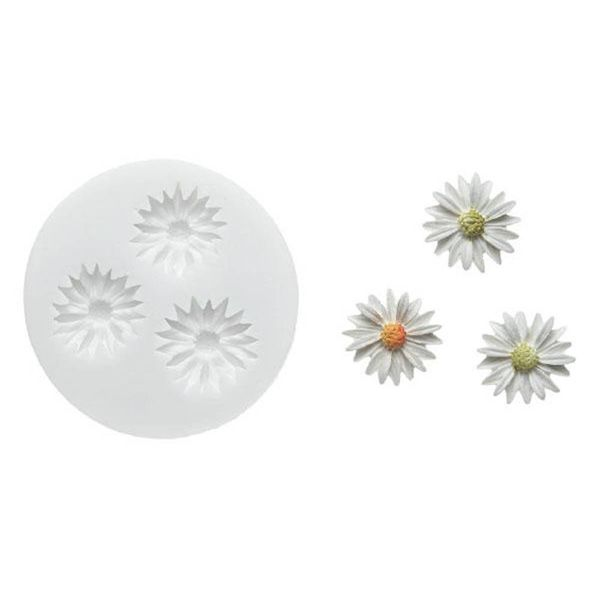 Silikomart WonderCakes Sugarflex Daisies Mould
