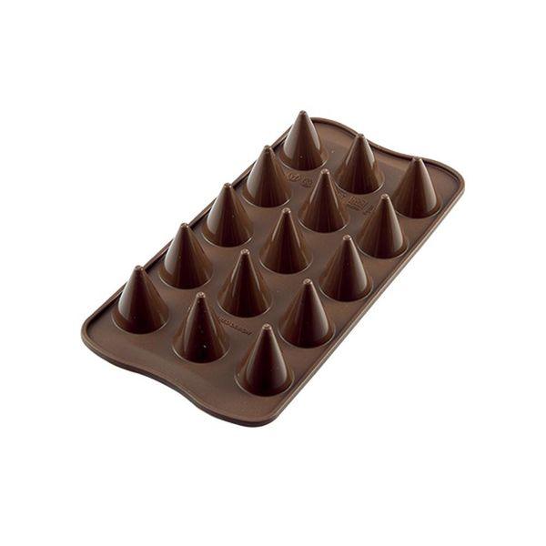 """Moule à chocolat Kono """"Easy Choc"""" en silicone de Silikomart"""