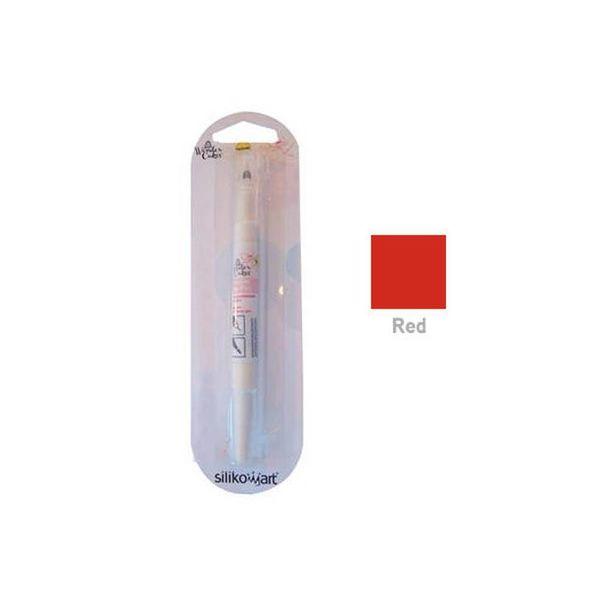 Pinceau Wonder Rouge WonderCakes de Silikomart