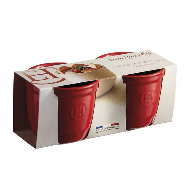 Emile Henry Ramekin VIII Set of 2 - Grand Cru