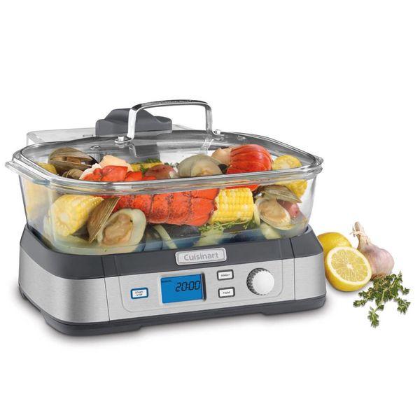 Cuiseur à vapeur CookFresh digital en vitre de Cuisinart