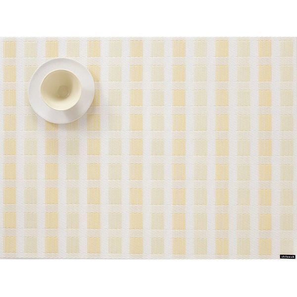 Chilewich Stitch Placemat Canary