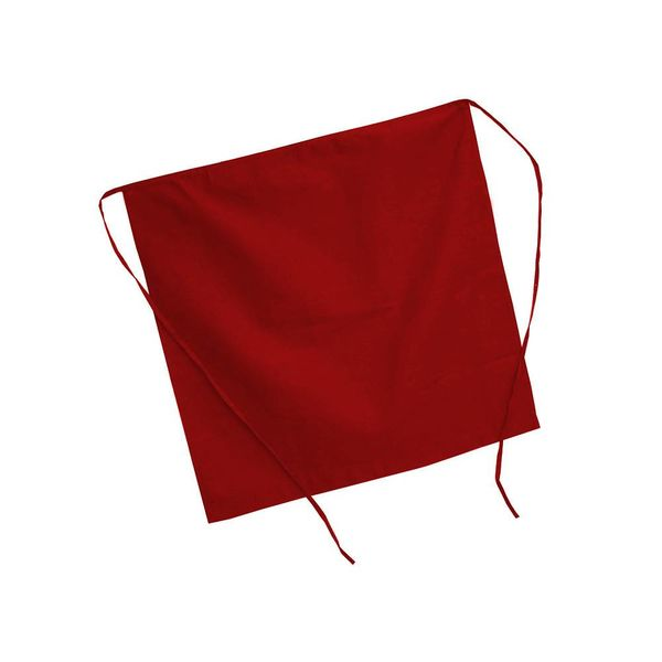 Johnson Rose Half Apron Red