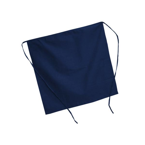 Johnson Rose Half Apron Navy Blue