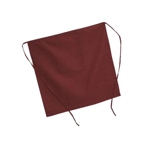 Johnson Rose Half Apron Burgundy
