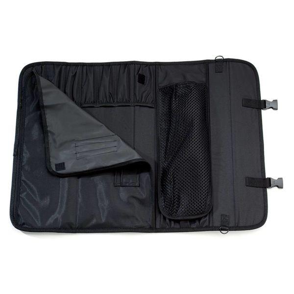 Valise dure en polyester noir