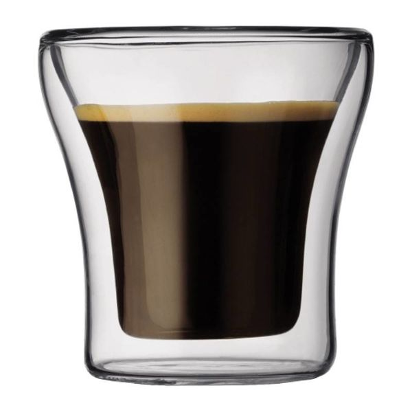 Bodum Assam 2 pc Espresso Glass Set