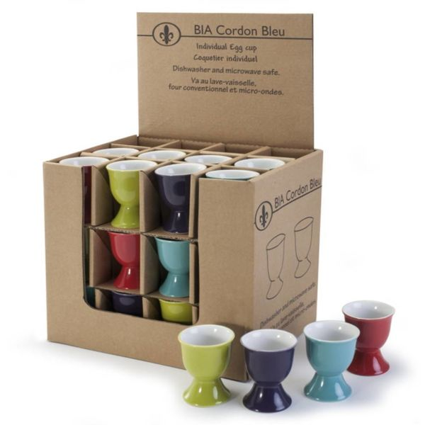 BIA Egg Cup, assorted colours, sold individually