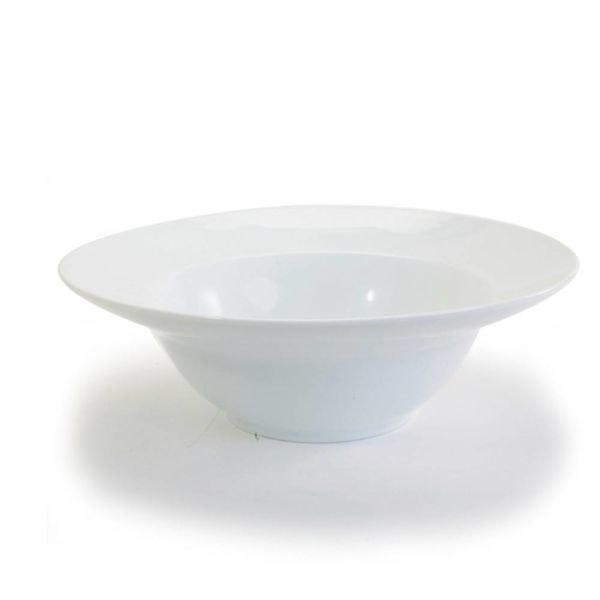 WIDE RIM DEEP PASTA BOWL 9""