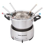 Cool Kitchen Pro Stainless Steel Electric Fondue