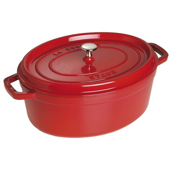 Staub Oval Cocotte 5,5 L Cherry