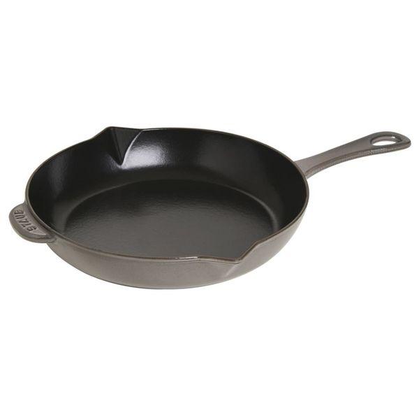 Poêle à frire Staub 26 cm / Fonte / Gris