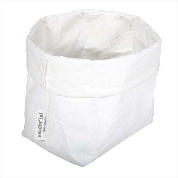 Sac de cellulose de Essential 10 cm x 12 cm x 29 cm / Blanc
