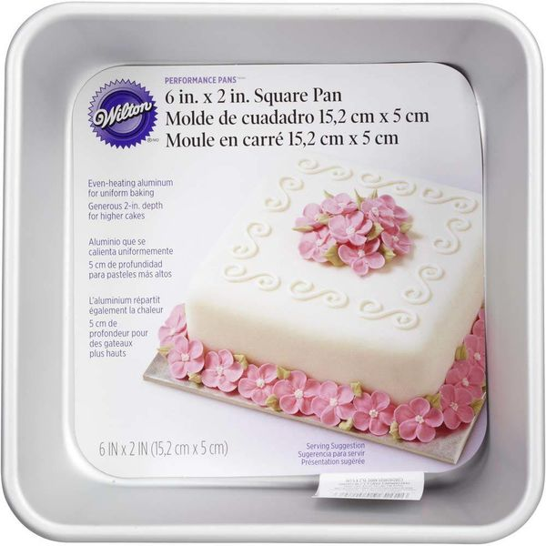 Wilton Performance Pans 15.2cm Square Cake Pan