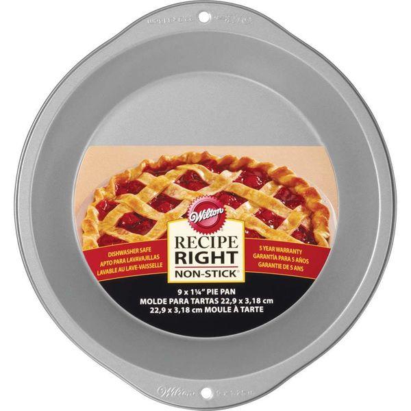 """Moule à tarte 23 cm """"Recipe Right"""" de Wilton"""