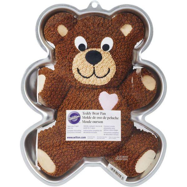 Moule à gâteau en forme d'ourson de Wilton