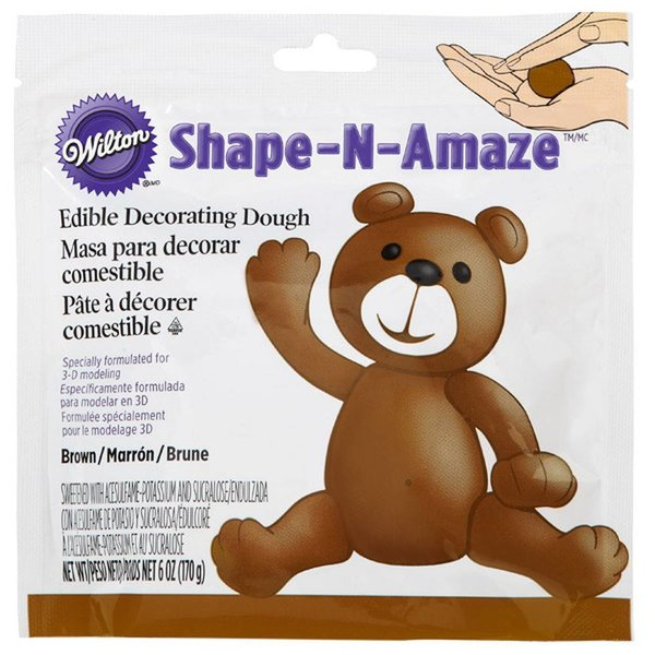 Wilton Brown Edible Decorating Dough